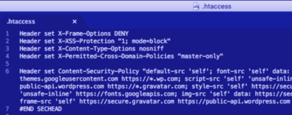 Add Security Headers to Your Website